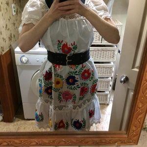 Vintage Handmade Mexican Dress